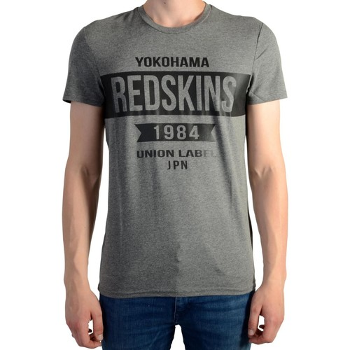Vêtements Homme T-shirts manches courtes Redskins Tee Shirt  Softaball V2 Calder Anthracite Chine Gris