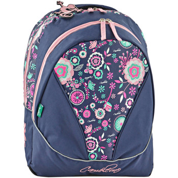 Sacs Enfant Sacs à dos Cameleon Sac à dos 2 compartiments NEW BASIC 18A-0NBA-BOR FLOWER BLUE