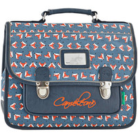 Sacs Enfant Cartables Cameleon Cartable 1 compartiment RETRO 709-RET-CA32 FOX NAVY