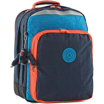 Sacs Enfant Sacs à dos Kipling Sac à dos 2 compartiments + PC 15'' BACK TO SCHOOL 110-00006666 BLUE ORANGE BL