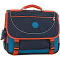 Sacs Enfant Cartables Kipling Cartable 2 compartiments BACK TO SCHOOL 110-00012074 BLUE ORANGE BL