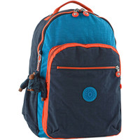 Sacs Enfant Sacs à dos Kipling Sac à dos 1 compartiment + PC 15'' BACK TO SCHOOL 110-00021305 BLUE ORANGE BL