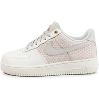Chaussures Homme Baskets basses Nike Air Force 1 '07 Lv8 Snake Clair Blanc