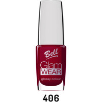 Beauté Femme Vernis à ongles Bell Vernis à ongles intense N° 406 - Rouge andrinople