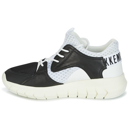 Homme NoirBlanc Leather Bikkembergs 2022 Chaussures Baskets Basses Fighter xBCode