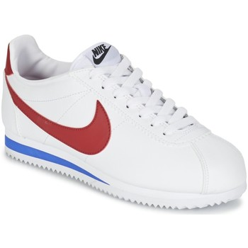 Chaussures Femme Baskets basses Nike Wms Classic Cortez Leather Blanc