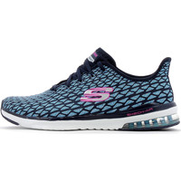 Chaussures Femme Baskets basses Skechers SKECH-AIR INFINITY Navy