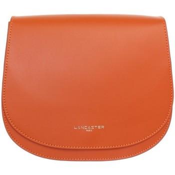 Sacs Femme Sacs Bandoulière LANCASTER Sac  en cuir porté travers ref_lan40306-o Orange