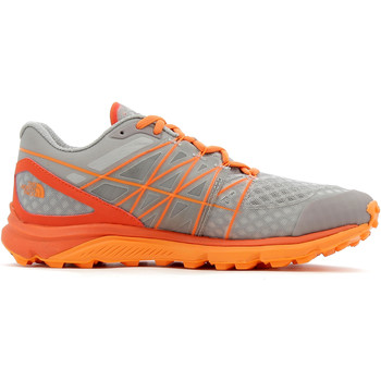 Chaussures Homme Running / trail The North Face Ultra Vertical Grey / Orange