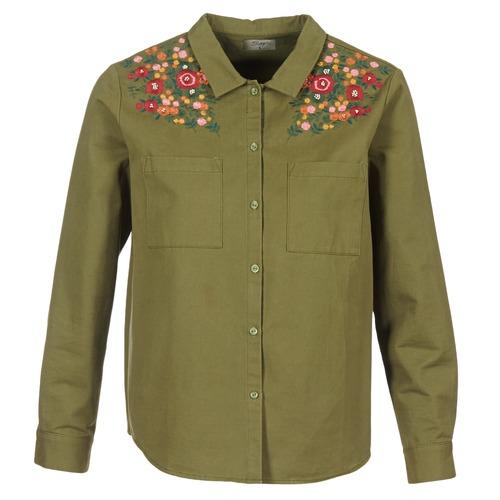Vêtements Femme Chemises / Chemisiers Betty London HOKAI Kaki