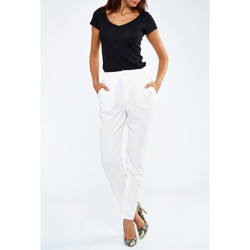 Vêtements Homme Chinos / Carrots Highlight Pantalon  Mae Blanc Femme Blanc