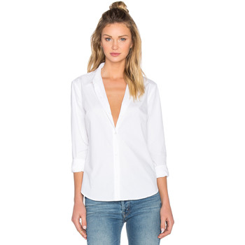 Vêtements Femme Chemises / Chemisiers Obey FIONA BUTTON-DOWN BLANC