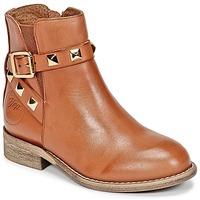 Chaussures Fille Boots Joggings & Survêtementsople CELIA Cognac