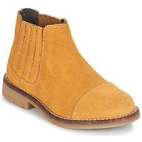 Chaussures Fille Boots Young Elegant People FILICIA Marron / Blé