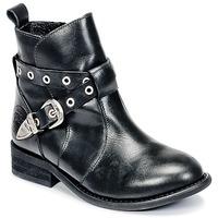Chaussures Fille Boots Joggings & Survêtementsople CALYPSO Noir
