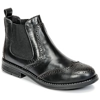 Chaussures Fille Boots Young Elegant People JOSEPH Noir