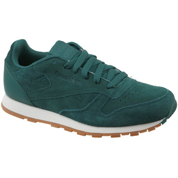 Chaussures Enfant Baskets basses Reebok Sport CL Leather SG CM9079 Vert