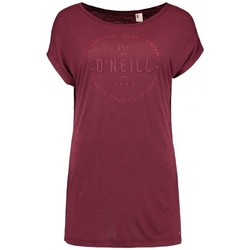Vêtements Femme T-shirts manches courtes O'neill T-Shirt  Lw Essentials Logo - Current Red Rouge