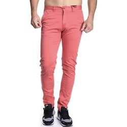 Vêtements Homme Chinos / Carrots Kenzarro Kd67038 Orange Rouge