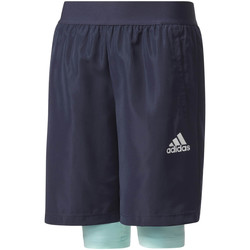 Vêtements Enfant Shorts / Bermudas adidas Performance Short 2in1 Woven bleu