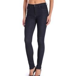 Vêtements Femme Jeans slim Diesel SKINZEE-HIGH 0813C Bleu Foncé