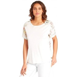 Vêtements Femme T-shirts manches courtes Billabong Top  Lucky You - Cool Wip blanc