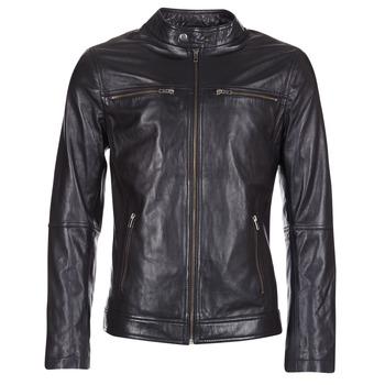 Longueur manche veste cuir