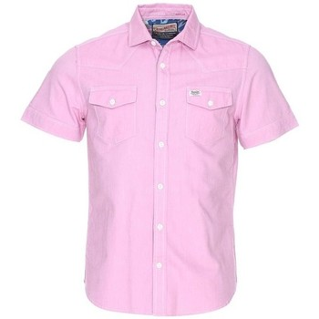 Vêtements Homme Chemises manches courtes Petrol Industries CHEMISE MSS16SIS414 Col 327 Rose