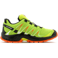Chaussures Enfant Running / trail Salomon XA Pro 3D K Lime Punch/Black/Scarlet Ibis