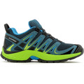 Chaussures Enfant Running / trail Salomon XA Pro 3D K Reflecting Pond/Lime Green/Hawaiian Surf