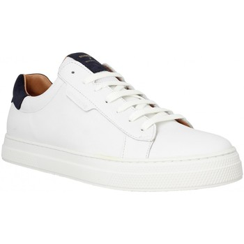 Chaussures Homme Baskets basses Schmoove Spark Clay cuir Homme White White
