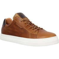 Chaussures Homme Baskets basses Schmoove Spark Clay cuir Homme Cognac Marron