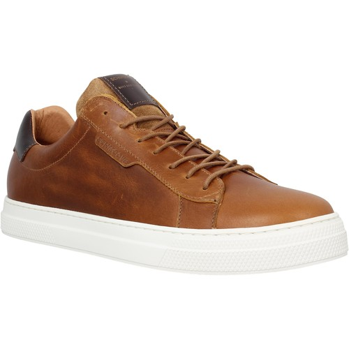 Chaussures Homme Baskets basses Schmoove Spark Clay cuir Homme Cognac Cognac
