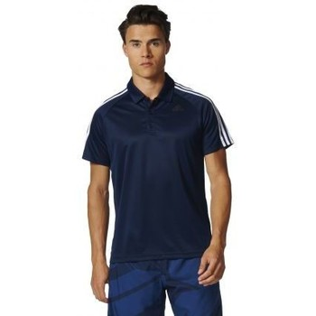 Polo Adidas - polo homme sport d2m 3 bandes
