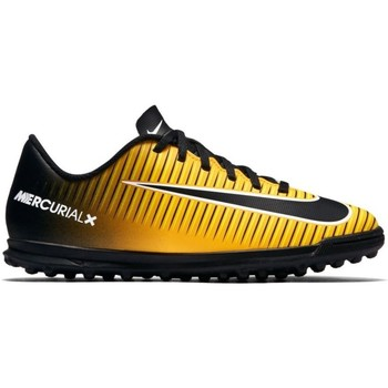 Chaussures Enfant Football Nike Junior Mercurial X Vortex 3 TF Noir-Jaune