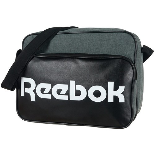 Sacs Besaces Reebok Sport CL ROYAL SHOULDER Noir-Gris
