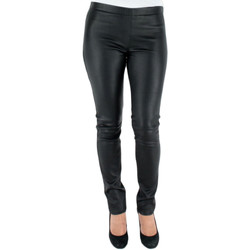 Vêtements Femme Pantalons Oakwood Pantalon  asteroid en cuir ref_cco32871-noir noir