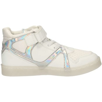 Chaussures Fille Baskets montantes Lulu LS230003S BLANC