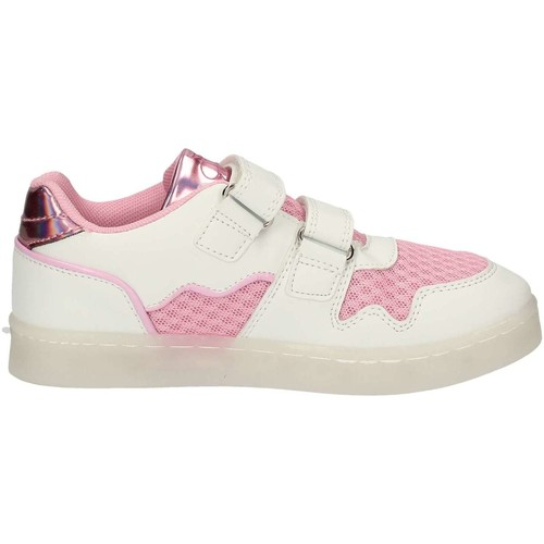 Chaussures Fille Baskets basses Lulu LS230004S Rose