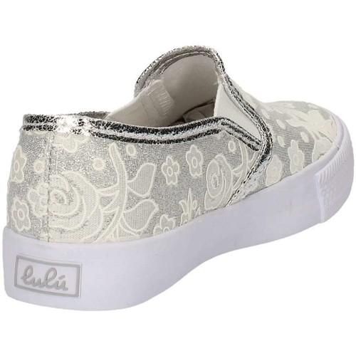 Chaussures Fille Slip ons Lulu LV010080S Blanc