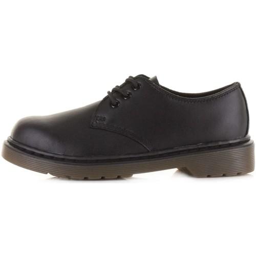 Chaussures Enfant Richelieu Dr Martens DMKEVEBK15378001 Noir