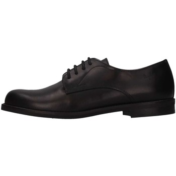 Chaussures Fille Richelieu Il Gufo G255 French shoes Enfant Noir Noir