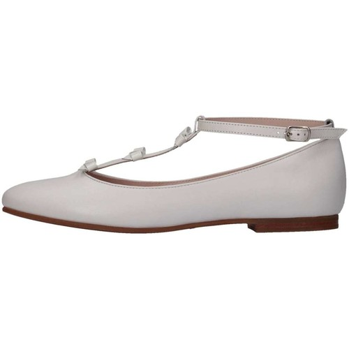 Chaussures Fille Ballerines / babies Il Gufo G288 Ballerines Enfant Blanc Blanc