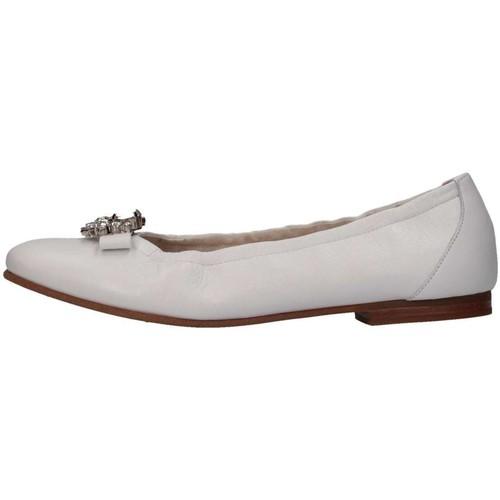 Chaussures Fille Ballerines / babies Il Gufo G325 Ballerines Enfant Blanc Blanc