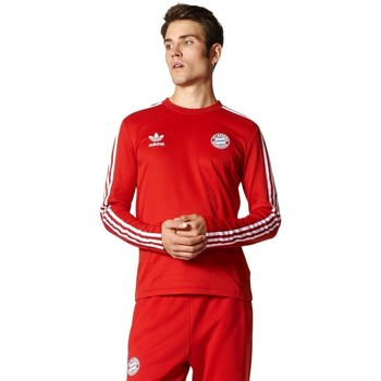 Vêtements Homme T-shirts manches longues adidas Originals Z Długim Rękawem Originals Bayern Longsleeve Rouge
