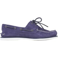 Chaussures Homme Mocassins Timberland FD Footwear Men S BO Blanc-Violet