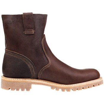 Chaussures Homme Bottines Timberland Pull ON Boot Beige-Marron
