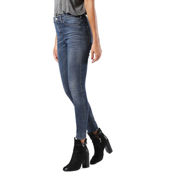 Vêtements Femme Jeans skinny Diesel SKINZEE-HIGH 0677E Bleu Jean