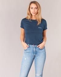 Vêtements Femme T-shirts manches courtes Yurban IHOULOU Marine