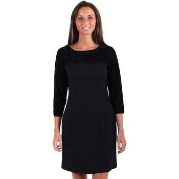 Vêtements Femme Robes courtes Armani jeans ROBE Z5A11 Noir
